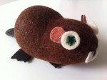 Felted-Wool-Animals-Jamie-Lewis-beaver