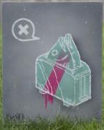 bon-stencil-fish-toaster-canvas-40x50cm