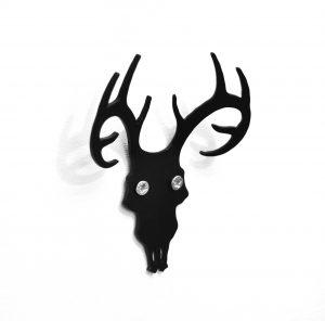 jenny-walsh-oh-deer-coat-hook-black