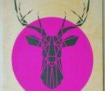 stencilize-deer-head-pink-grey
