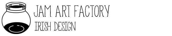 Logo Jam Art Factory – Irish Art and Design Shop, Dublin