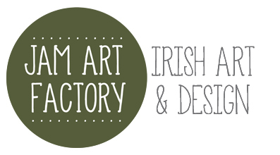 Logo Jam Art Factory – Irish Art and Design Shop, Dublin